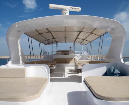 Unser Kitesafari Boot in Ägypten