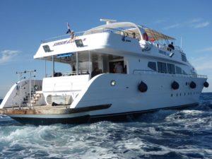Unser Kitesafariboot in Ägypten